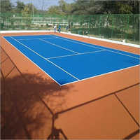 Single Tennis Court Flooring