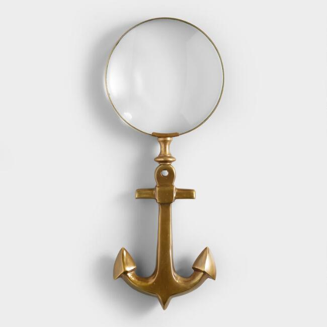 Brass Shine Gold Magnifying Glass