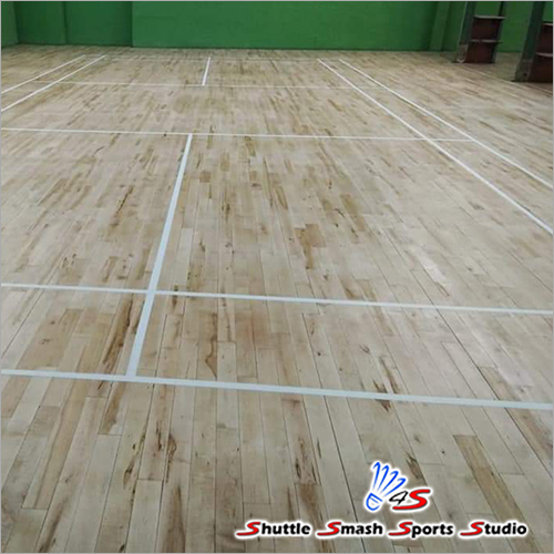 Maple Wood Sports Court Wooden Flooring