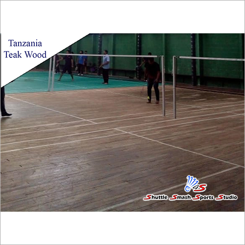 Tanzania Teak Sports Court Wooden Flooring