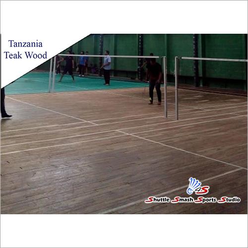 Tanzania Teak Sports Court Wooden Flooring