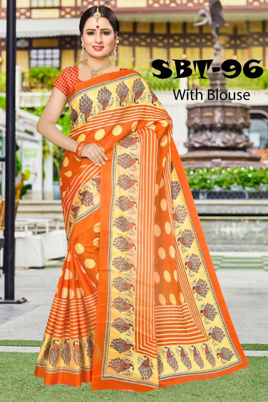 New Design Silk Light Saree