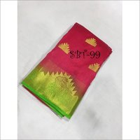 Kanchivaram Nylon Silk With Jacquard