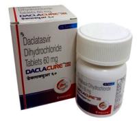 DACLACURE 60mg Declatasvir 60 mg