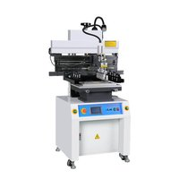 Semi-Auto SMT Stencil Printer Machine for PCB Assembly line