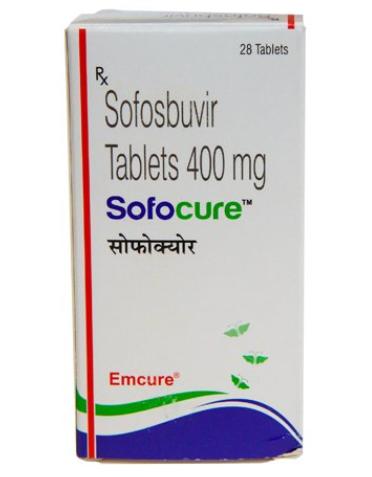 SOFOCURE Sofosbuvir 400mg