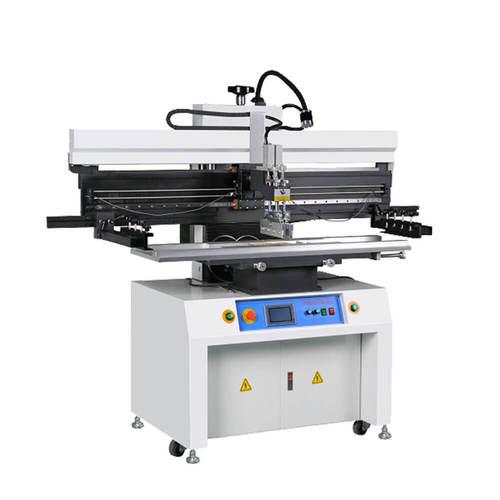 Touch screen Manual stencil printing machine / solder paste printer