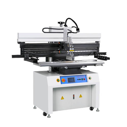 Touch screen Manual stencil printing machine / solder paste printer