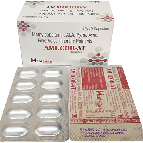Methylcobalamin Thiamine Nutrients Capsule