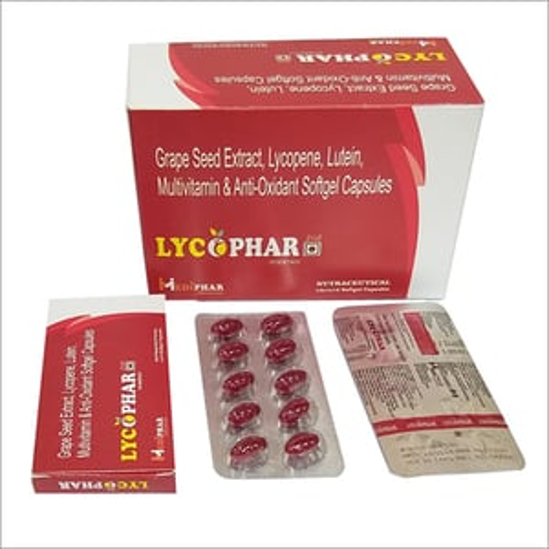 Grape Seed Extract Antioxidant Softgel Capsule