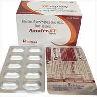 Ferrous  Ascorbate Folic Acid Tablet