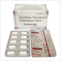 Aceclofenac Chlorzoxazone Tablet