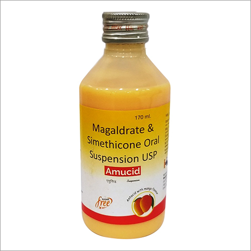 Magaldrate Simethicone Oral Suspension Syrup