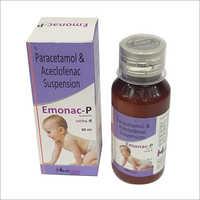 Paracetamol Aceclofenac Suspension Syrup