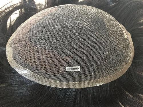 Glamoy Full Lace Men's Toupee Patch Hair Replacement Unit