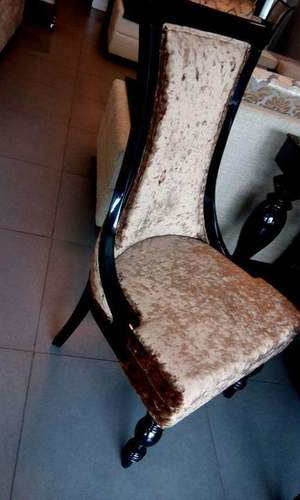 Classic teakwood dinning chair by comfort furniture