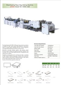 Automatic Sheet-feeding Paper Bag Making Machine
