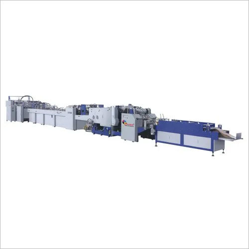 FULLY AUTOMATIC SHEET FEEDING PAPER BAG  MAKING MACHINE