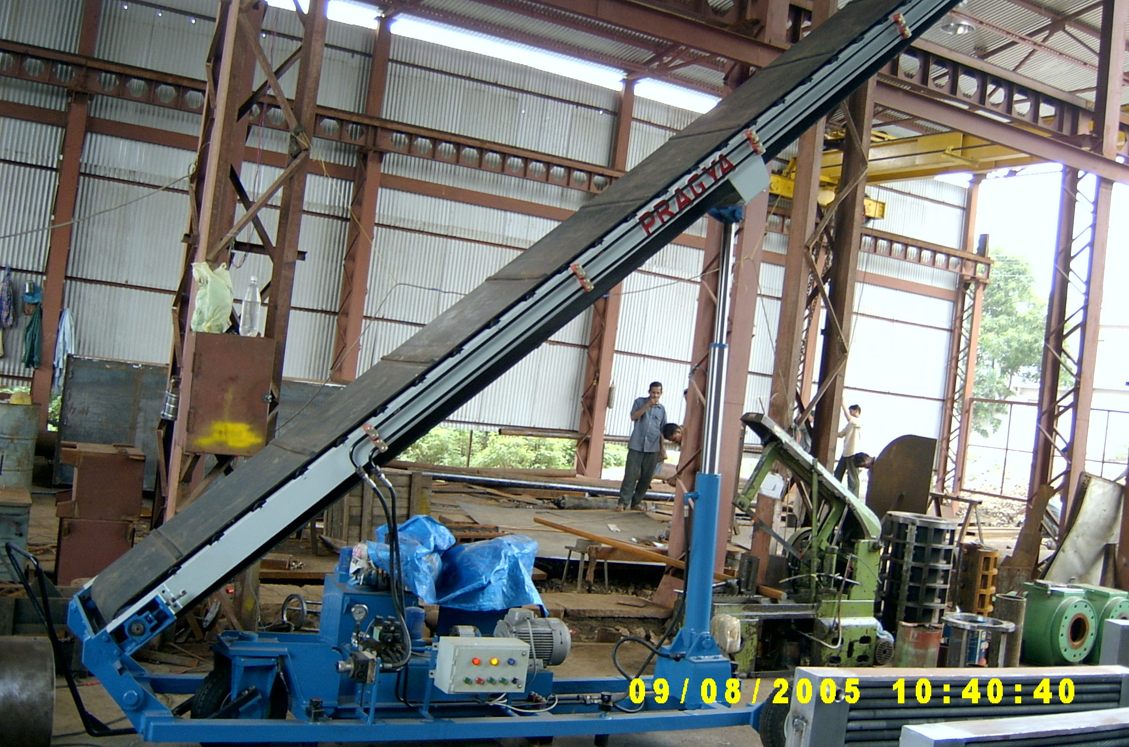 Hydraulic Bag Stacker