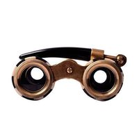 Brass Mother of Pearl Binocular