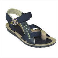 Mens Black Sandal