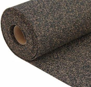 Rubberized cork sheet