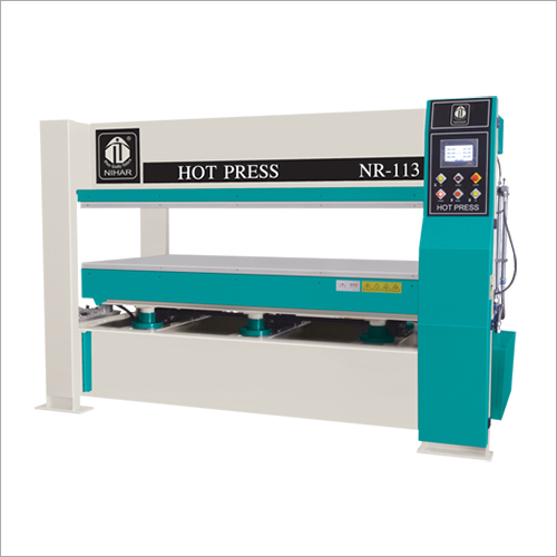 Hot And Cold Press Machine