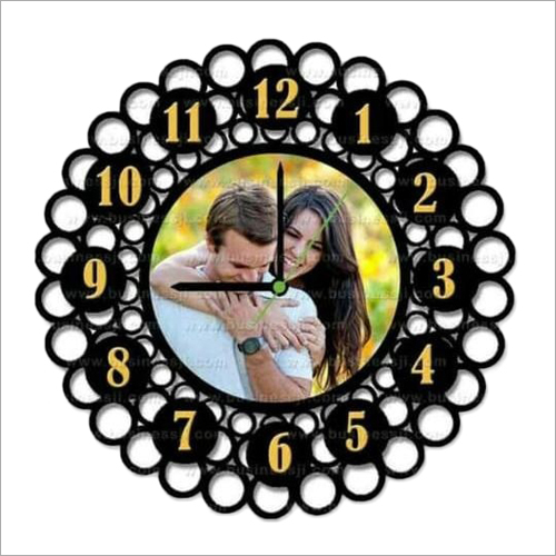 Sublimation Designer printed Wall Clock