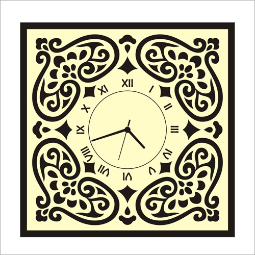 Sublimation Office Wall Clock