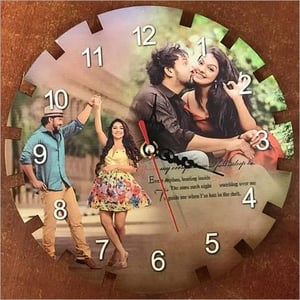 Sublimation Picture Wall Clock