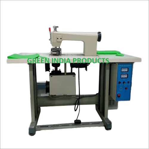 Semi Automatic Non Woven Bag Machine