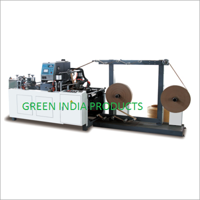 Paper Rope And Roll Making Machine