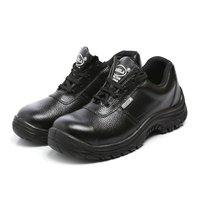 Black Leather Safety Shoe