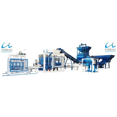 Automatic Hydraulic Block and Paver Machine