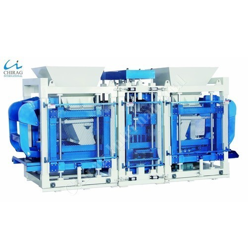 Semi-Automatic Concrete Block Making Machine