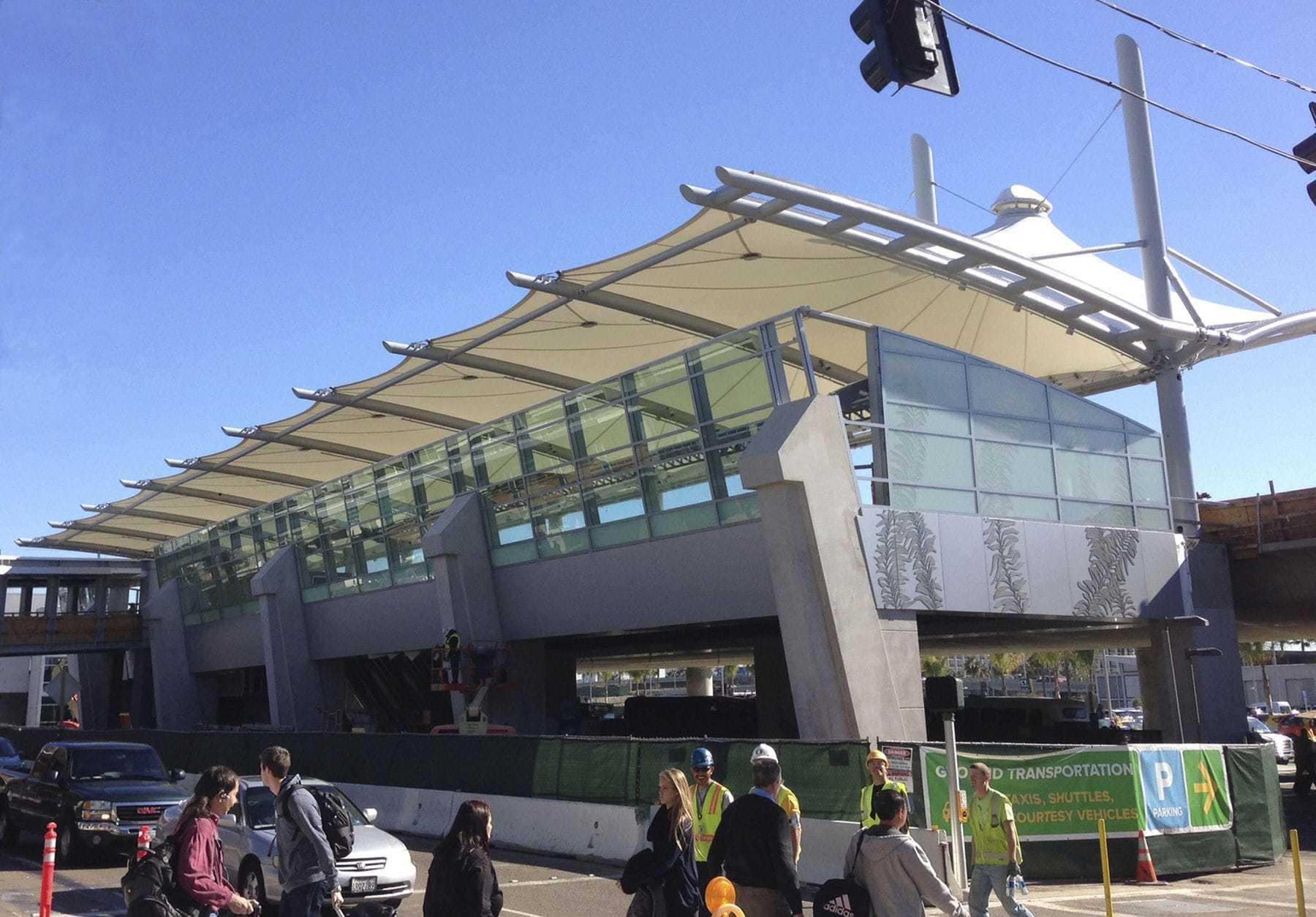 Stadium Roofing Structure