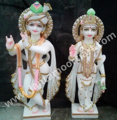 Antique Radha Krishna Statue