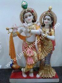 Combined Radha Krishna Statue