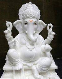 Marble God Ganesh Statue