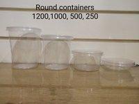 Round 250ml container