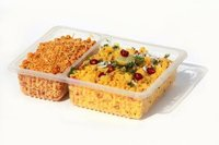 2 compartmental meal trays (2 cp)