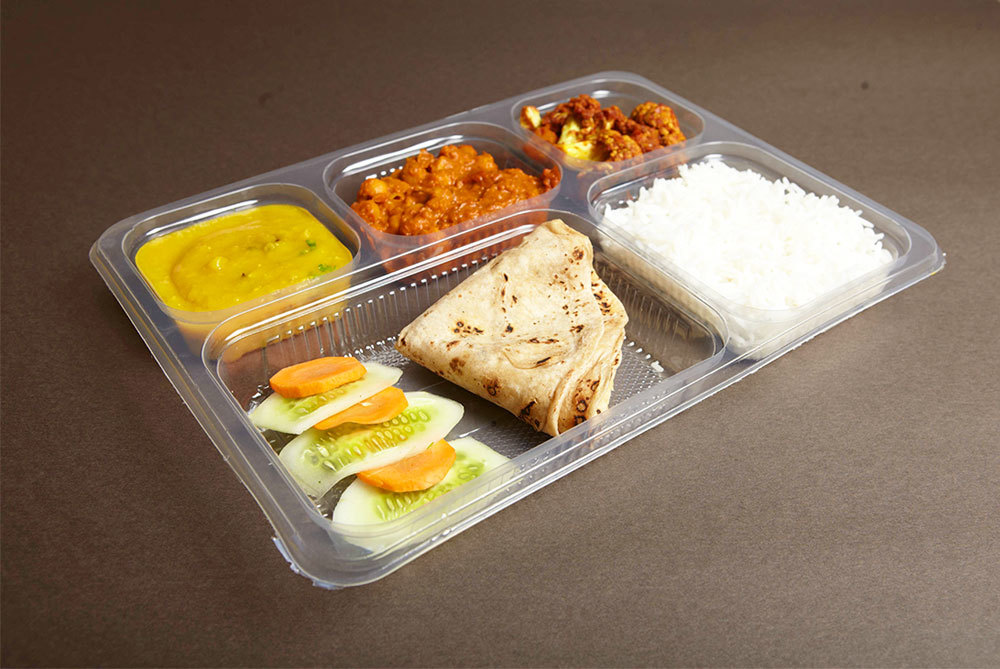 5 Compartmental meal trays(5 cp)