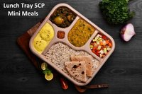 Eco friendly 5cp meal tray