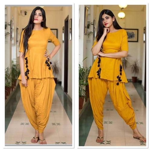 Latest Trendy Kurti With Patiyala Salwar