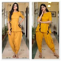 Latest Trendy Kurti With Patiyala Salwar