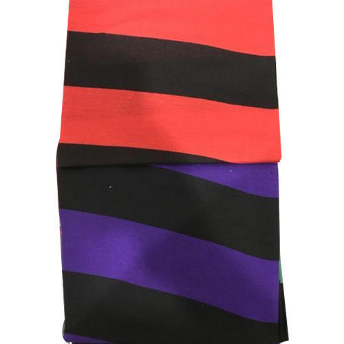 Sinker Stripes Knitted Fabric 50/50