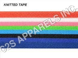 Durable knitted tapes