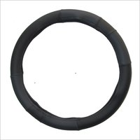 Black Grey Steering Cover