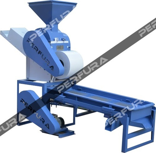 Groundnut Decorticator cum Grader