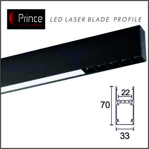 Led laser Blade Aluminium Profiles